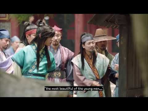 Bts V/Taehyung (Han sung) first appearance in Hwarang : the poet warrior youth episode 2 cut