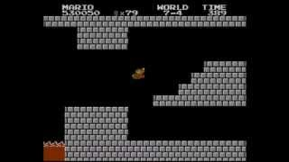 super Mario Bros (NES) Level 7-4