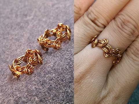Simple Knot Ring Handmade Jewelry Design 237 Youtube