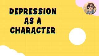 Depression Drawn as a Person
