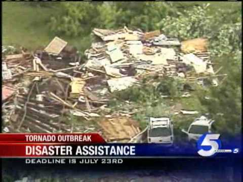 FEMA Aids May Tornado Victims