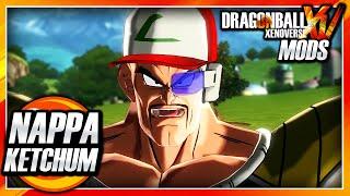 Dragon Ball Xenoverse PC: Nappa Ketchum (True Pokemon Master) Mod Gameplay