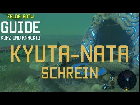 Zelda Breath Of The Wild Schrein Karte.Guide Zelda Breath Of The Wild Kyuta Nata Schrein