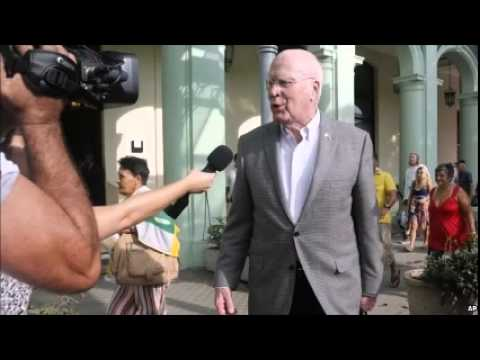 US-Cuba thaw: Congressional delegation arrives in Havana
