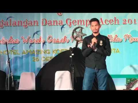 Acara malam renungan 12 Tahun Tsunami by Rafly Kande, Fikar W.Eda, Martunis & Yayasan Fokal