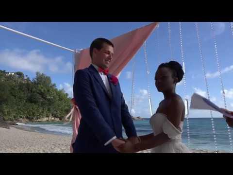 Wedding in Seychelles for Yvonne & David on 17.05.17 by Marco Pross Dream Weddings Seychelles