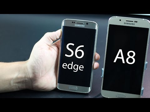 Samsung Galaxy A8 vs Galaxy S6/S6 Edge