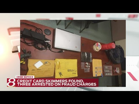 I-70 traffic stop nets credit-card skimmers; three arrested
