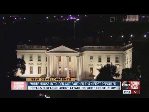 White House intruder got past front door
