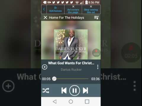 Darius rucker- what God wants for christmas - YouTube