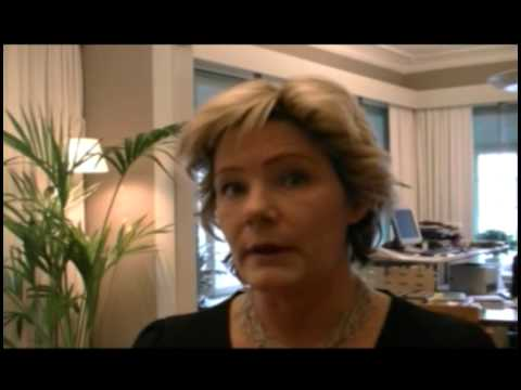 Maria Larsson, Swedish Minister for Elderly Care and Public Health, talks about Swedish drug policy