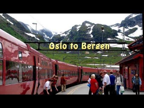 WORLD'S BEST TRAIN RIDE Bergen to Oslo Norway trip