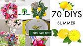 🍋70 DIY DOLLAR TREEDECOR CRAFTS🍋 SUMMER 2019 Olivia&#39s Romantic Home DIY