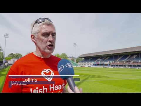 CPR 4 Schools with The Irish Heart Foundation & Leinster Rugby