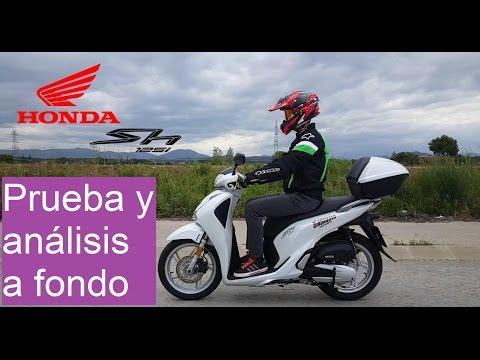 Honda SH 125i   Prueba y Análisis a Fondo