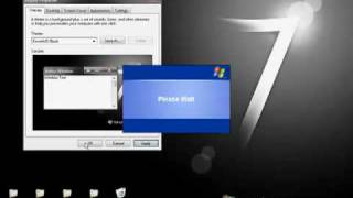 How To: Get Windows 7 Black Theme for xp w/ Superbar. (SP2 and SP3)