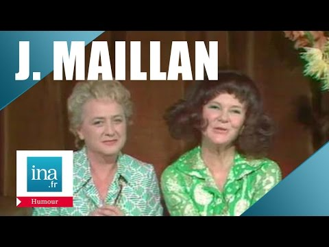 Jacqueline Maillan et Sophie Desmarets 'Conseils pour la speakerine'   Archive INA
