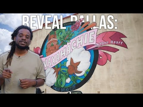 REVEAL DALLAS | WAXAHACHIE! | Do you want a small city feel close to a big city?