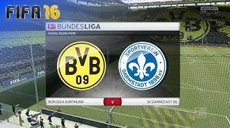 FIFA 16 - Borussia Dortmund vs. SV Darmstadt 98 @ Signal Iduna Park (Season '16/'17)