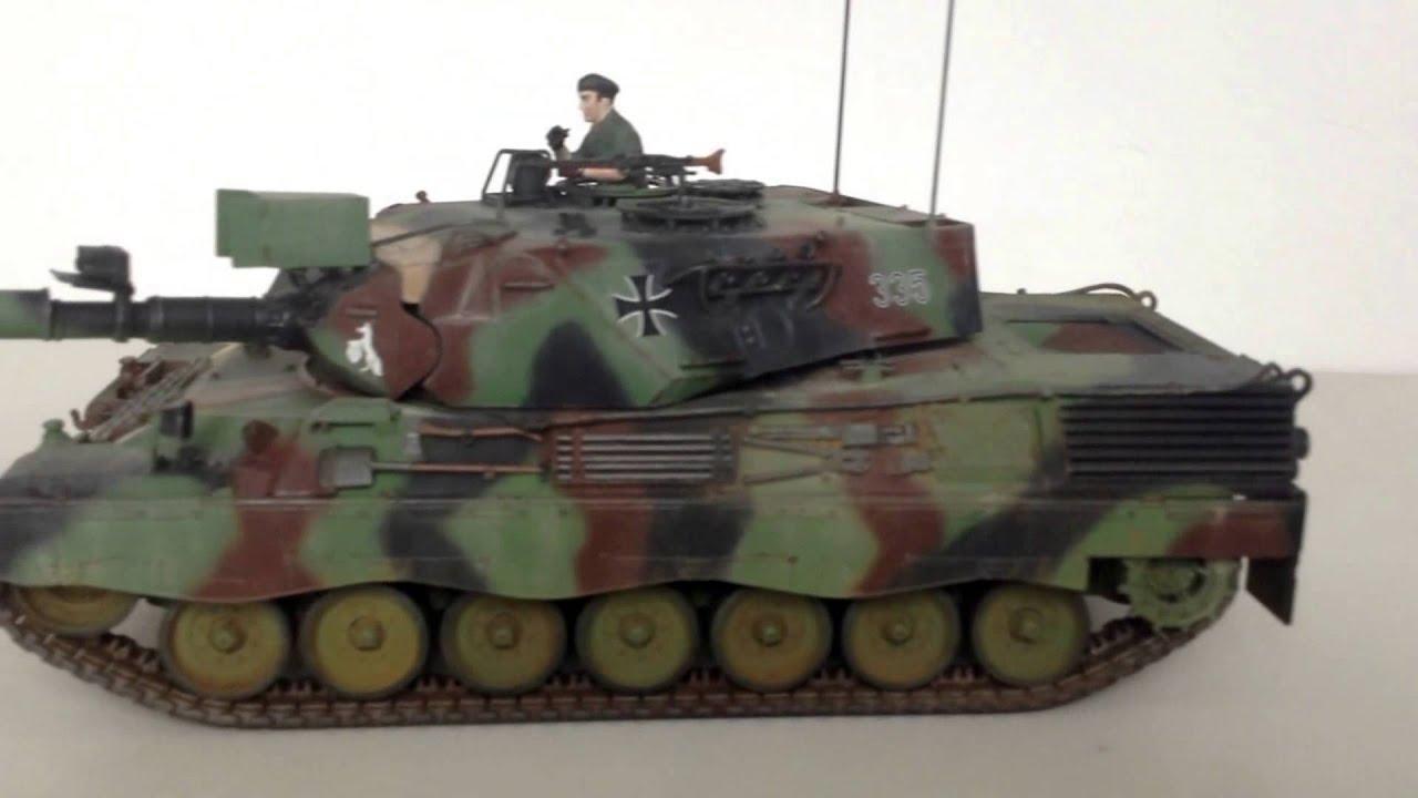 italeri 1 35 leopard 1a4 tank youtube. Black Bedroom Furniture Sets. Home Design Ideas