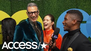 Jeff Goldblum Dishes On James Corden's 'Thank U, Jeff' | Access