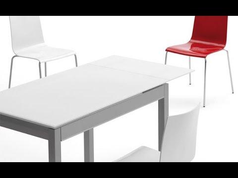Mesa cocina yes ondarreta extensible moderna con cajón   youtube