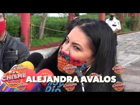 ALEJANDRA AVALOS reta a ANEL a que ENSEÑE los DOCUMENTOS   Chisme en Vivo