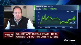 Saudis, Russians reach deal on deep oil output cuts: Reuters