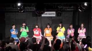 アップアップガールズ(仮)が恵比寿LIVEGATEで行っているPigoo劇場レギ...