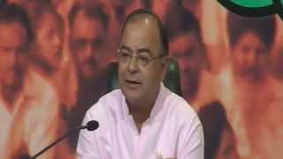 LIVE:: Joint Press of Shri Rajnath Singh, Shri Arun Jaitley & Smt. Vasundhara Raje