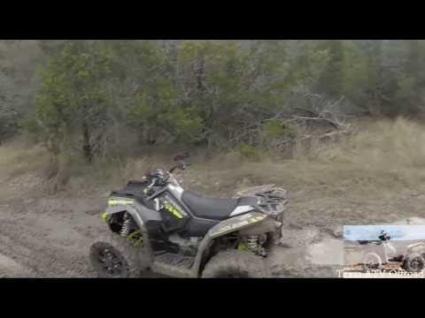 ATV Riding at Hidden Falls Texas. ATV Riding From Camp A to Perimeter and Mud FULL