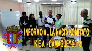 Informo al la Nacia Estraro de Kuba Esperanto Asocio