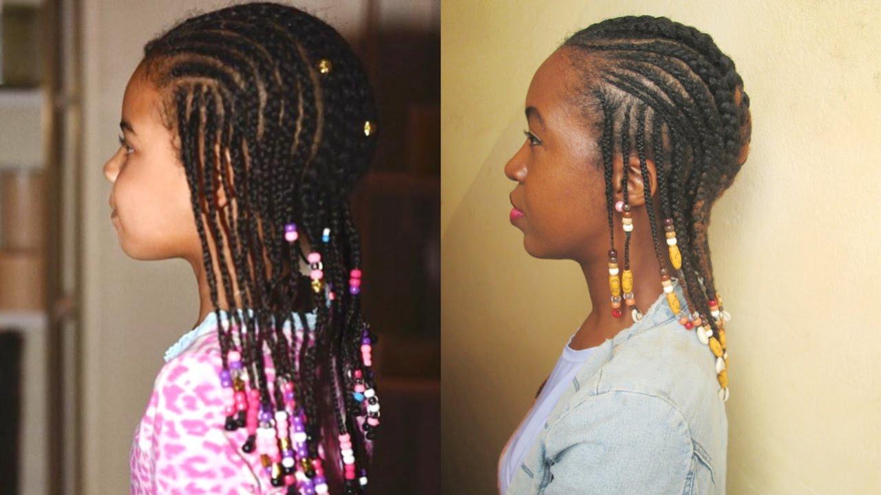 blue ivy inspired braids coiffure
