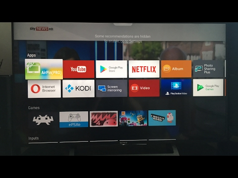 Sony Bravia Android TV 7 Update - Quick Look