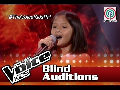 "The Voice Kids Philippines Blind Auditions 2016: ""Kailangan Kita"" by Jhie Anne"