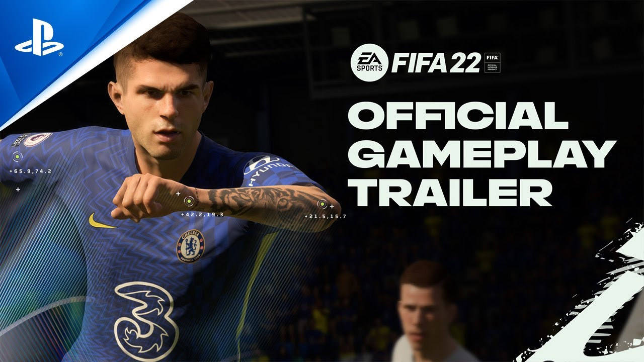 FIFA 22 PS5 features 3D audio video