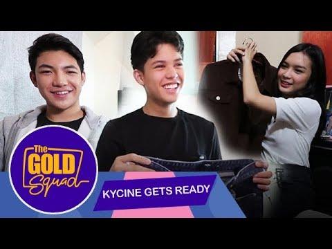 KYCINE GETS READY FOR U.S. TRIP WITH DARREN ESPANTO | The Gold Squad