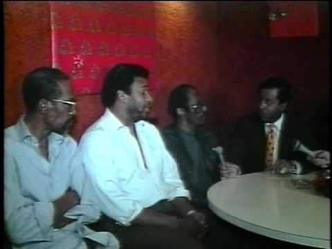 Gino Washington TV  Show interview With Eddie,Dennis,David (fommer Members of the Temptations 1991