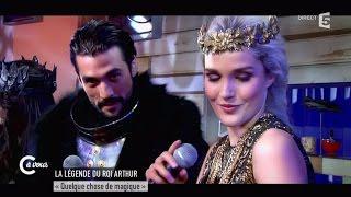"""La Légende du Roi Arthur """"Quelque chose de magique"""" - C à vous - 29/04/2015"""