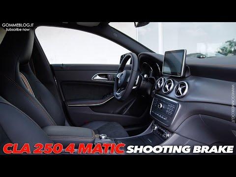MERCEDES CLA 250 Shooting Brake | INTERIOR DESIGN