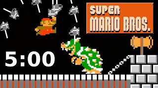 Can I Beat Super Mario Bros in Under 5 Minutes?