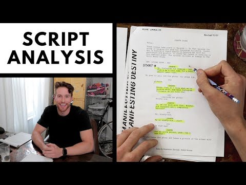 How to Analyze a Script for an Audition   Los Angeles Acting Tips
