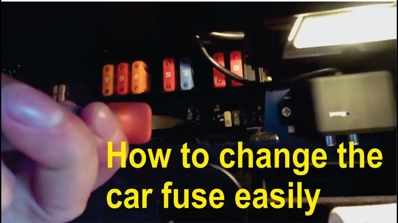 An Easy Way To Remove Or Insert Fuses In Your Car Bmw Youtube E36 Fuse Box