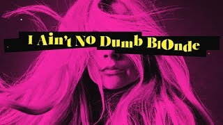 Avril Lavigne feat. Nicki Minaj - Dumb Blonde (Lyric Video) Video