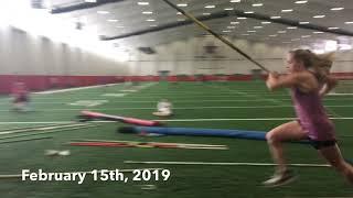 1st Year Pole Vault Progression (0-116)