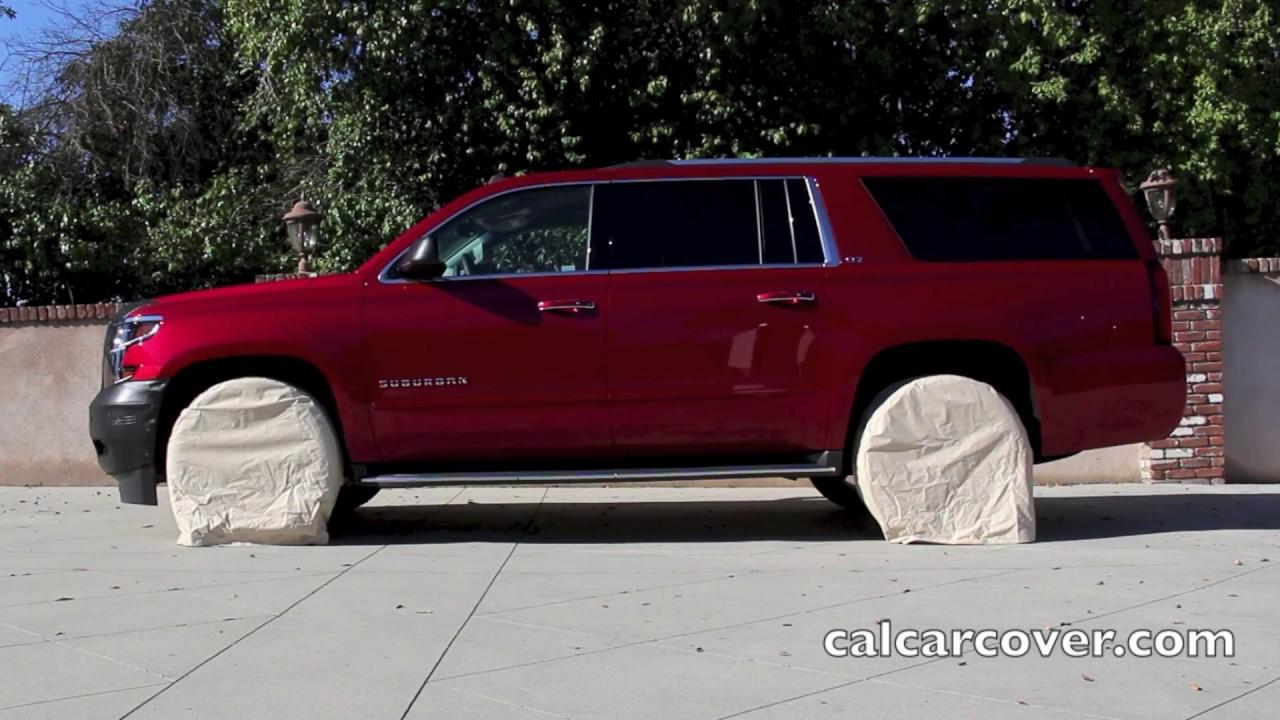 13-17/'/' Diameter Car Tire Storage Bag Protector Cover Holds 4 Wheels Black
