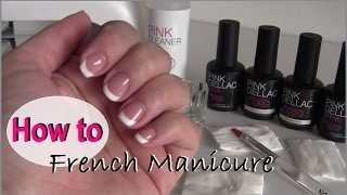 How to: French manicure met Pink Gellac | beautynailsfun.nl Thumbnail