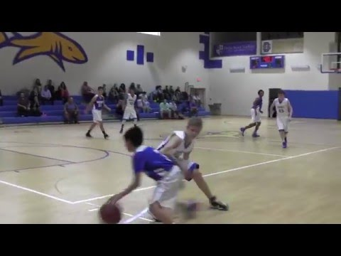Jose Amat III Highlights vs. Divine Savior Academy 12-4-2015
