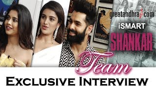 iSmart Shankar team exclusive interview | Ram Pothineni, Nidhhi Agerwal, Nabha Natesh