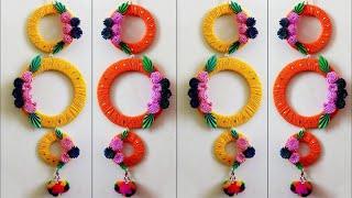 Beautiful Wall Hanging Making at Home || DIY Room Decor 2018 || Handmade Things || Showpiece Craft